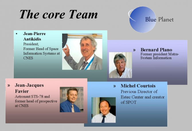 A Top and highly skilled European team... - Blue Planet